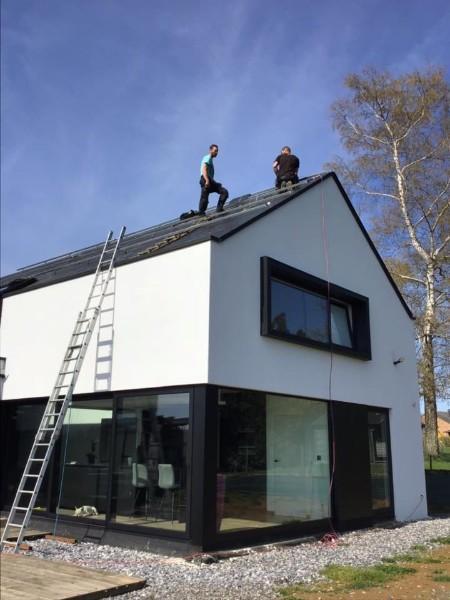 Dépannage panneaux photovoltaïques Namur