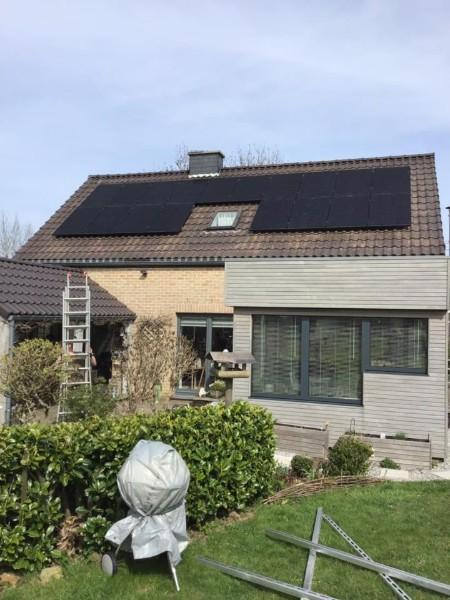 Panneau photovoltaïque Liège