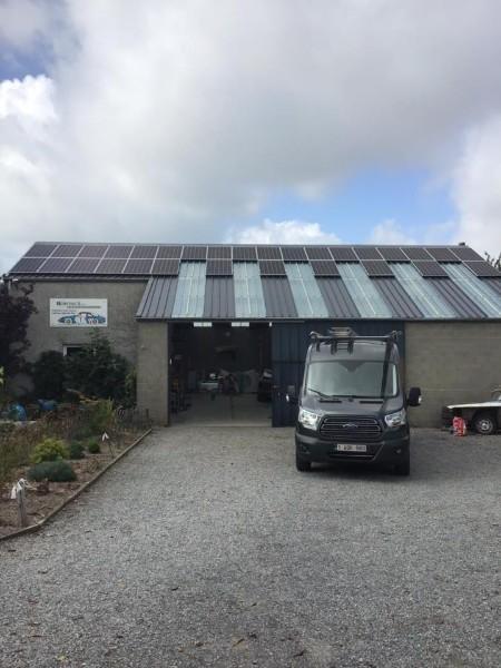 réparation panneaux photovoltaïques Namur