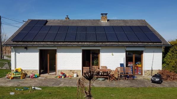 Installation panneaux photovoltaïques Namur