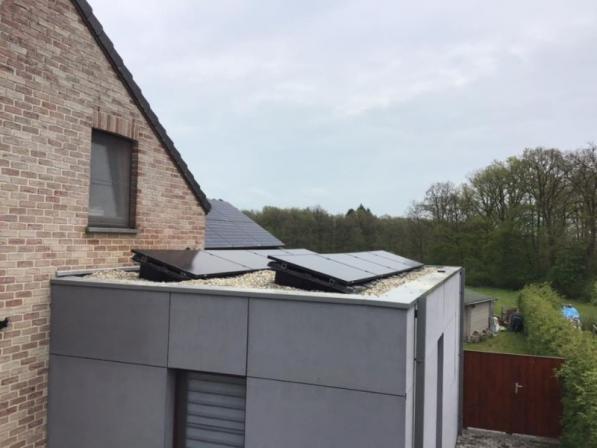 pose panneau solaire Liège