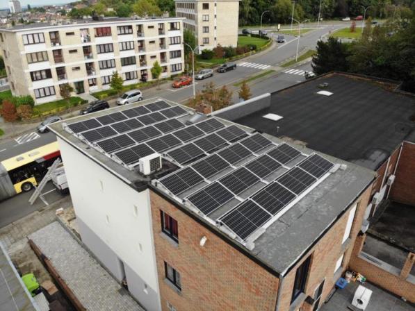 Extension panneaux photovoltaïques Namur