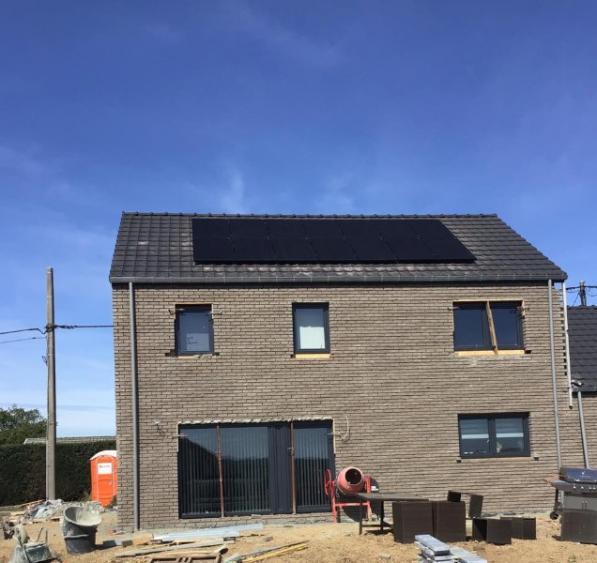 Pose panneaux photovoltaïques Liège